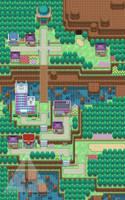 Acrevoir Town by SailorVicious