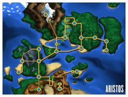 Aristos Region Map by SailorVicious