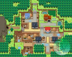 Cruzmont Town by SailorVicious