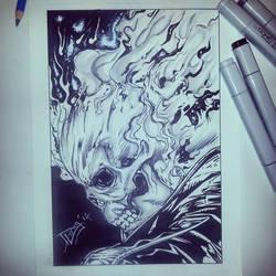 Blaze by DaveLungArt