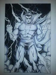 Captain Marvel by DaveLungArt