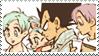 Brief Family - Vegeta, Bulma, Trunks and Bra STAMP by ForeverSonu