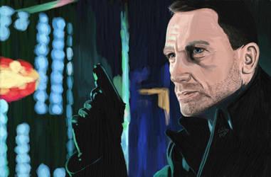 James Bond : Skyfall ~ To my dad by Wondercookies