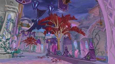 Suramar - World of Warcraft by Wondercookies