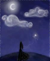 starless night by Sibylle