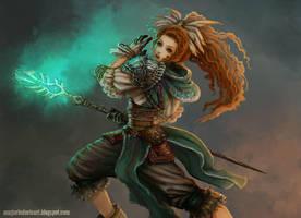 Sword of Mana Elena by MarjorieDavis