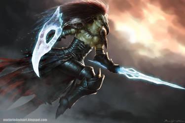 Savage Reaper by MarjorieDavis