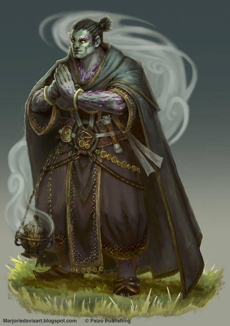 oread monk pathfinder - 706×1000