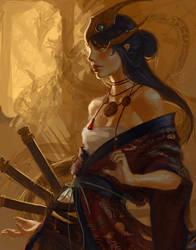 Dragon Priestess by k-atrina