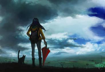 Incoming Storm by k-atrina