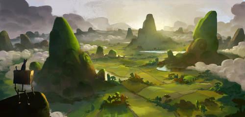 Mountains by k-atrina