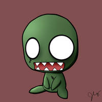 baby zombie 2 by chuckie-chan