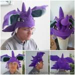 Nidoking Hat by lyramakesplushies