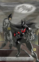 Batman The Present The Future by One-Beyond
