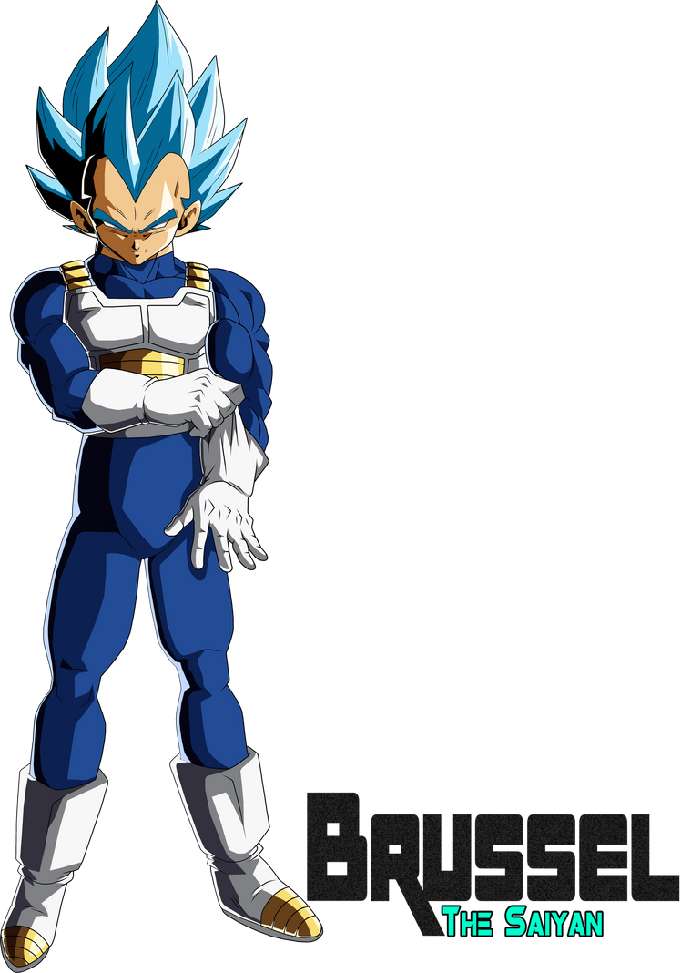 Vegeta Super Saiyan Blue Dokkan LR Palette by BrusselTheSaiyan