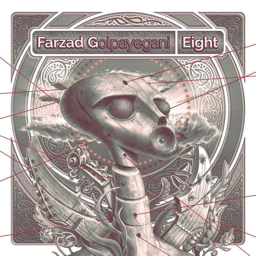 Cover design for my latest release, album Eight by farzadonline