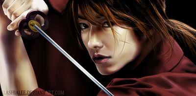 Himura Kenshin by Lashialee