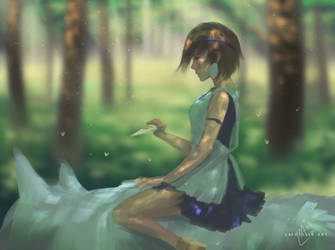 Princess Mononoke by Lashialee