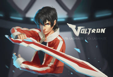 Keith - Voltron by Lashialee