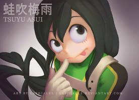 Tsuyu Asui by Lashialee