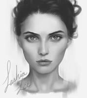 Portrait Study by Lashialee