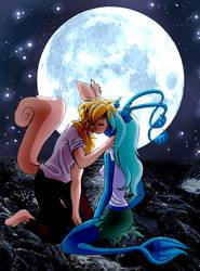 Moonlit Kiss by Precious-Love
