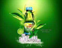 Lipton Green Tea by Oceandeep76