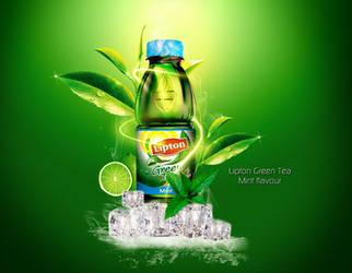 Lipton Green Tea by Oceandeep76