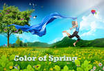 The Color of Spring by Oceandeep76