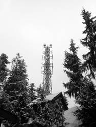 Cell Tower by claytonh