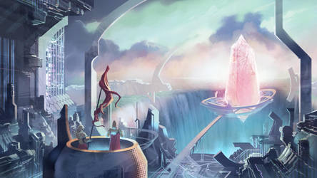 Crystal City by ultima-thula