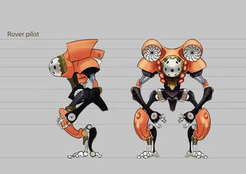 Diving Bot by ultima-thula