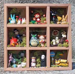Hayao Miyazaki fanart clay by tanadelbianconiglio