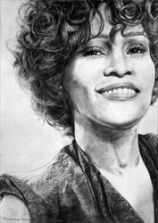 Whitney Houston by proximafermata