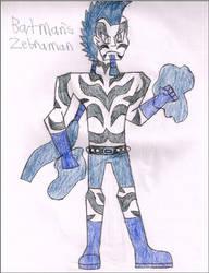 Batman's Zebraman by LawfulStudios9646