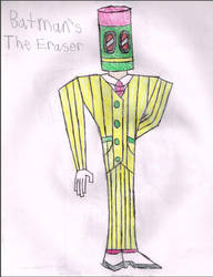 Batman's The Eraser by LawfulStudios9646