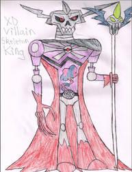 XD Villain Skeleton King by LawfulStudios9646