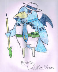 Law the Prinny by LawfulStudios9646