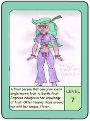Fruit Empress' Pow Card by LawfulStudios9646