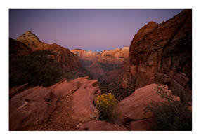 Canyon Twilight by collectiveone