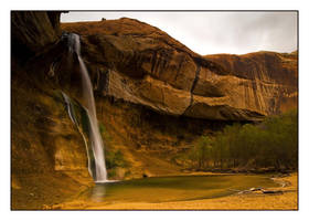 Calf Creek Falls by collectiveone