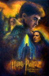 Harry Potter VI Poster by Wolfie-chama