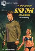 Star Trek Into Darkness, The Pulp Cover by LeoluxArt