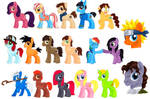 March of the Ponies (Salt Lake Comic Con FanX '14) by alamedyang