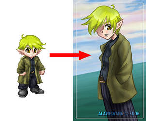 Practice GaiaOnline Conversion by alamedyang