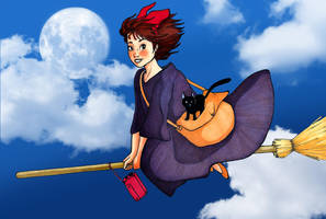 kiki's delivery service by yuipo