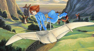 nausicaa of the valley of the wind by yuipo