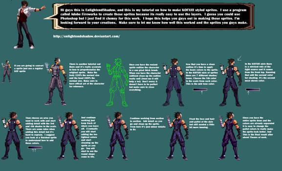KOFXIII sprite tutorial by EnlightendShadow