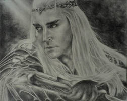 Lee Pace as Thranduil, King of the Woodland Realm by sadronniel