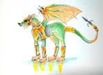 Dragon wolf dog thing just buy it okay? by sesquipedaliophobiac